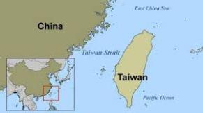 Map of China & Taiwan